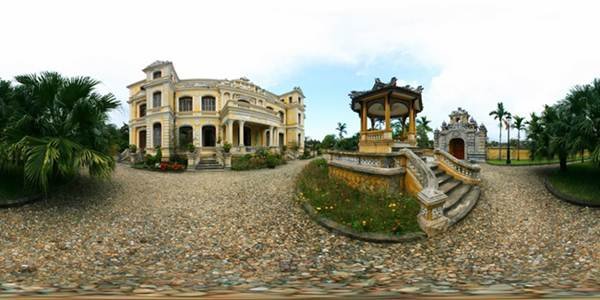 French colonial architecture in Hue