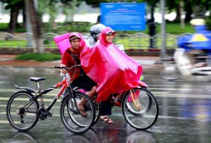 Weather in Hue with rain