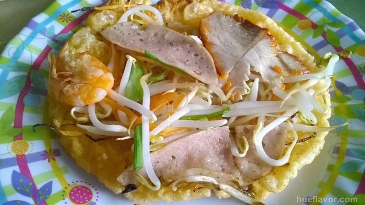 Hue Street Food: Pancake