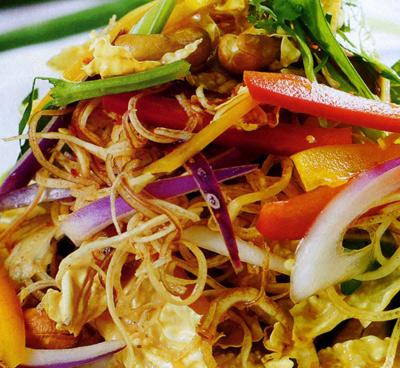 Vegetarian food in Hue Vietnam