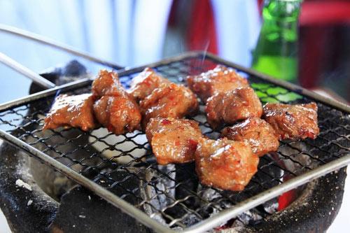Nha Trang local food Bo Nuong Lac Canh