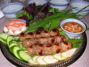 Nha Trang local food Nem Nuong