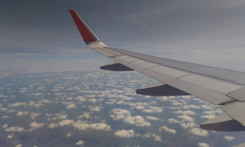 Airline Travel to Hue