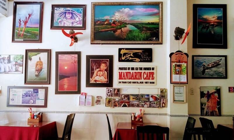Mandarin cafe Hue