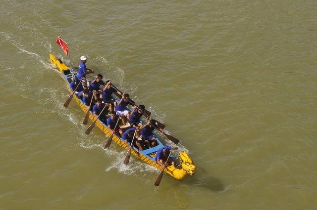 boat race danang