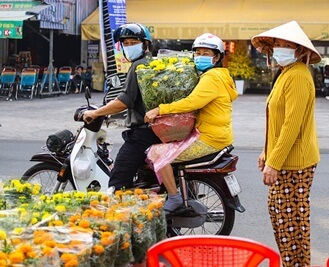 buy flower for tet