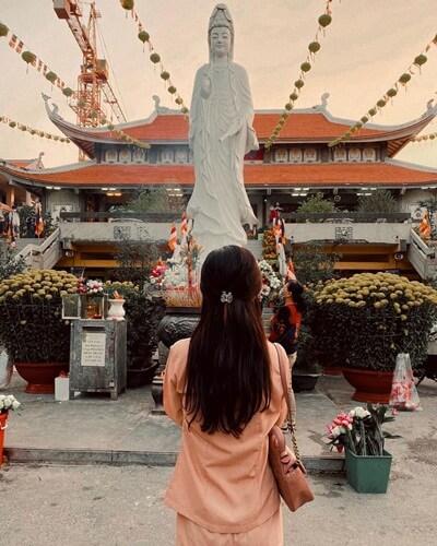 Vinh Nghiem Pagoda in HCMC